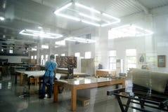 Shenzhen guanlan printmaking workshop, in china Stock Image