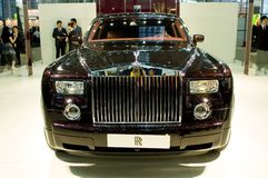 Shenzhen - Hong Kong - Macao car show Royalty Free Stock Photo