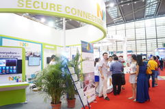 Shenzhen internationaal slim huis en intelligente Hardware Expo Royalty-vrije Stock Foto
