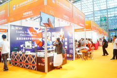Shenzhen international aging industry and Service Expo. Held in Shenzhen Convention and Exhibition center stock photo