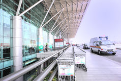 Shenzhen international airport Royalty Free Stock Images