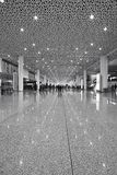 Shenzhen international airport terminal Royalty Free Stock Images