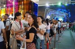 Shenzhen international brand clothing fair catwalk shows scene Stock Images