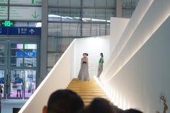 Shenzhen international brand clothing fair catwalk shows scene Stock Photo