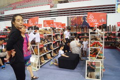 Shenzhen international famous brand clothing exhibition Royalty Free Stock Photo