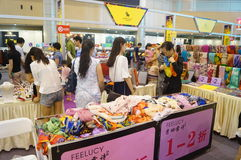 Shenzhen international famous brand clothing exhibition Stock Image