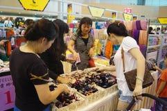 Shenzhen international famous brand clothing exhibition Stock Photography