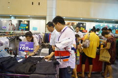 Shenzhen international famous brand clothing exhibition Stock Photo