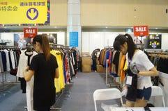 Shenzhen international famous brand clothing exhibition Royalty Free Stock Photos