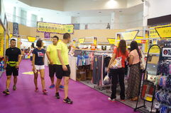 Shenzhen international famous brand clothing exhibition Royalty Free Stock Photography