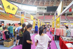 Shenzhen international famous brand clothing exhibition Stock Photography