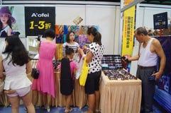 Shenzhen international famous brand clothing exhibition Royalty Free Stock Images
