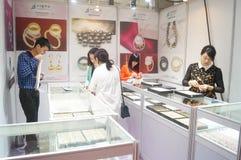 Shenzhen International Gold Jewellery Fair Stock Photo