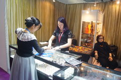 Shenzhen International Gold Jewellery Fair Royalty Free Stock Images