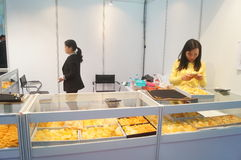Shenzhen International Gold Jewellery Fair Royalty Free Stock Photography