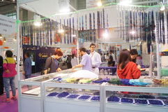 Shenzhen International Gold Jewellery Fair Royalty Free Stock Photo
