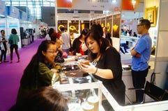 Shenzhen International Gold Jewellery Fair Stock Images