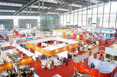 Shenzhen international hotel equipment and supplies exhibition, in China Royalty Free Stock Photo