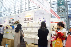 Shenzhen international hotel equipment and supplies exhibition, in China Stock Photography