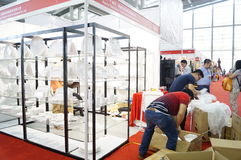 Shenzhen international hotel equipment and supplies exhibition, in China Royalty Free Stock Photos