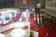 Shenzhen International Mobile Health Industry Expo Royalty Free Stock Photos