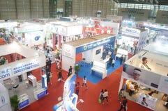 Shenzhen International Mobile Health Industry Expo Stock Photo