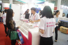 Shenzhen International Mobile Health Industry Expo Royalty Free Stock Images