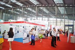 Shenzhen international smart home and intelligent Hardware Expo. Held in Shenzhen Convention and Exhibition Center, in china royalty free stock photos