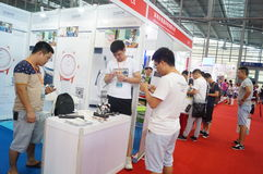 Shenzhen international smart home and intelligent Hardware Expo. Held in Shenzhen Convention and Exhibition Center, in china stock photography