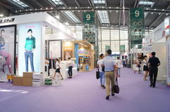 Shenzhen international textile fabrics and Textile Accessories Expo Royalty Free Stock Photography