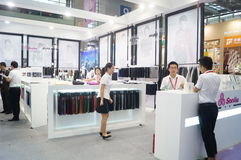 Shenzhen international textile fabrics and Textile Accessories Expo Royalty Free Stock Image