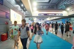 Shenzhen-internationales Videofestival Stockfoto