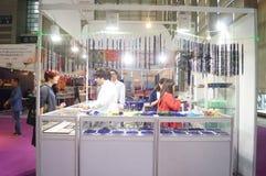 Shenzhen internationell guld- smyckenmässa Royaltyfria Bilder