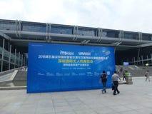 Shenzhen internationell UAV-utställning Arkivbild