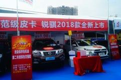 Shenzhen kan showen för festivalen för dagarbete den internationella auto Royaltyfria Foton