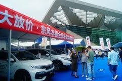 Shenzhen kan showen för festivalen för dagarbete den internationella auto Arkivfoton