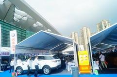 Shenzhen kan showen för festivalen för dagarbete den internationella auto Arkivfoto