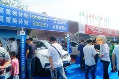 Shenzhen kan showen för festivalen för dagarbete den internationella auto Arkivbild