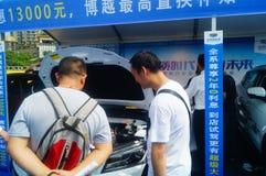 Shenzhen kan showen för festivalen för dagarbete den internationella auto Royaltyfri Foto