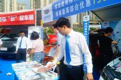 Shenzhen kan showen för festivalen för dagarbete den internationella auto Arkivbilder