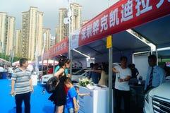 Shenzhen kan showen för festivalen för dagarbete den internationella auto Royaltyfria Bilder