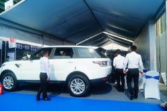 Shenzhen kan showen för festivalen för dagarbete den internationella auto Royaltyfri Bild