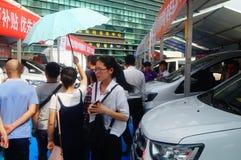Shenzhen kan showen för festivalen för dagarbete den internationella auto Royaltyfri Fotografi