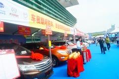 Shenzhen kan showen för festivalen för dagarbete den internationella auto Fotografering för Bildbyråer