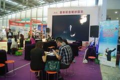 Shenzhen Kina: Hem- inredning levererar utställning arkivfoton