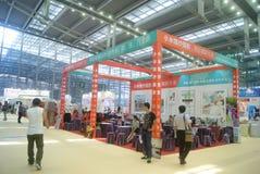 Shenzhen Kina: Hem- inredning levererar utställning fotografering för bildbyråer