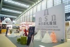 Shenzhen Kina: Hem- inredning levererar utställning arkivbilder