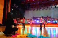 Shenzhen Kina: Inre landskap för teater Arkivfoto