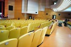 Shenzhen Kina: Inre landskap för teater Arkivbilder