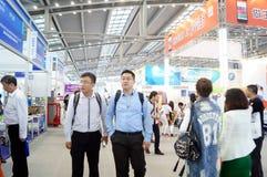 Shenzhen Kina: Mässa för hög Tech Royaltyfri Fotografi